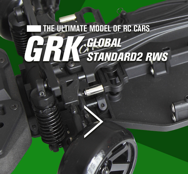 THE ULTIMATE MODEL OF RC CARS GRK GLOBAL STANDARD2 RWS