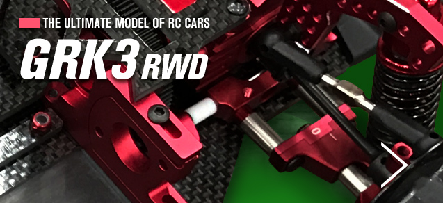 THE ULTIMATE MODEL OF RC CARS GRK3 RWD