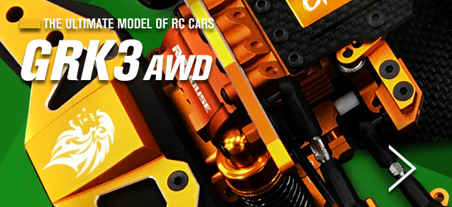 THE ULTIMATE MODEL OF RC CARS GRK3 AWD