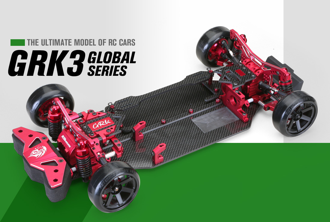 THE ULTIMATE MODEL OF RC CARS GRK3 THE FINAL EVOLUTION
